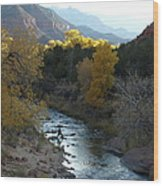 Photographing Zion National Park Wood Print