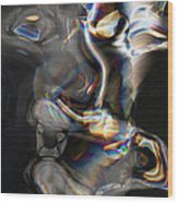 Photonic Totem Wood Print