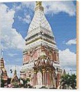Phra That Raynu In Nako Phanom Thailandhon Phanomthailand Wood Print