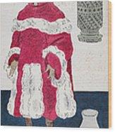 Physician, 15th Century Wood Print