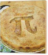 'Pi' Pie Wood Print