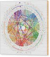 Pi Transition Paths Wood Print