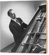 Pianist Artur Rubinstein, 1944 Wood Print