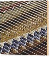 Piano Abstract 6582 Wood Print