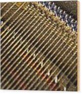 Piano Abstract 6611 Wood Print