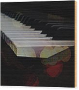 Piano Magic Wood Print