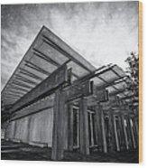 Piano Pavilion II Wood Print