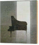 Piano Room 2005 Wood Print
