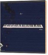 Piano Wood Print by YoMamaBird Rhonda