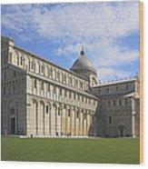 Piazza Del Duomo Pisa Italy  Wood Print