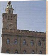 Piazza Maggiore Piazza Del Nettuno Wood Print