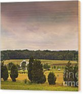 Pickets Charge - Gettysburg - Pennsylvania Wood Print