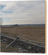 Picketts Charge The Angle Wood Print by Joshua House