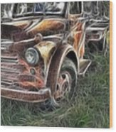 Pickup 2467 Wood Print