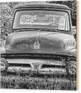 Pickup Truck 4 Wood Print