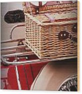 Picnic Ready Wood Print