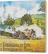 Picpic Incomparagle En Cote Wood Print
