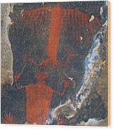 Pictograph Wood Print
