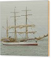 Picton Castle Starboard Wood Print
