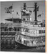 Picture Of Natchez Steamboat In New Orleans Wood Print