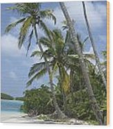 Picture Perfect Paradise Wood Print