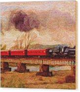 Picture Postcard Wood Print
