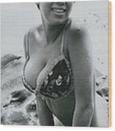 Pictured Bikinis For �fans� Michi Aoyama Favours Elves Wood Print
