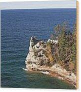 Pictured Rocks National Lakeshore Wood Print