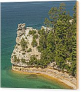 Pictured Rocks National Lakeshore Wood Print