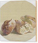 Pieces Of Baguette Wood Print
