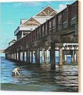 Pier 60 - Clearwater Florida  Wood Print