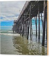 Pier Out Wood Print