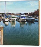 Pier Pressure - Lake Norman Wood Print