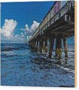 Pier Series 3 Wood Print