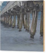 Pier Series 5 Wood Print