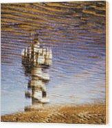 Pier Tower Wood Print