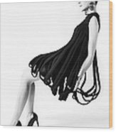 Pierre Cardin Car Wash Dress Wood Print