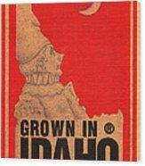 Pierrot Of Idaho Wood Print
