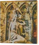 Pieta Masterpiece Wood Print