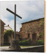 Pieve Di Santa Maria All Sovaro Wood Print