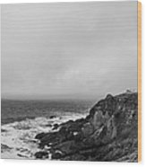 Pigeon Point Lighthouse Wood Print by Ralf Kaiser