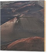 Pihanakalani Haleakala Volcano Sacred House Of The Sun Maui Hawaii Wood Print