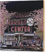 Pike Place Market IIi Wood Print