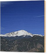 Pikes Peak 2013 Wood Print