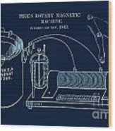 Pike's Rotary Magnetic Maching Wood Print