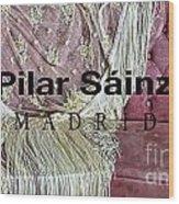 Pilar Sainz Designer Wood Print