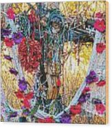 Pilgrimage Shrine Wood Print
