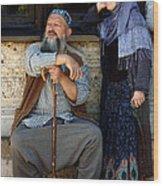Pilgrims... Wood Print