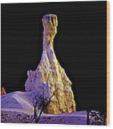 Pillar Of Gold - Bryce Canyon Wood Print