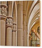 Pillars Of Faith Wood Print